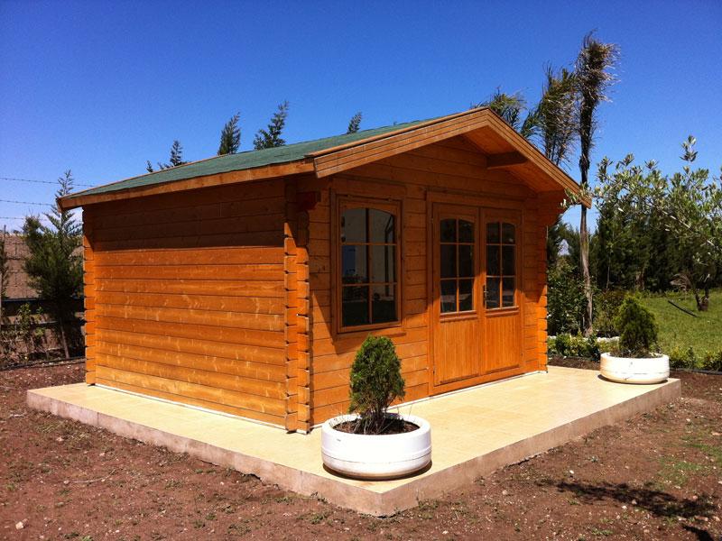Micromega d partement chalets bois for Constructeur de chalet bois